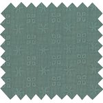Cotton fabric gaze dentelle mint - PPMC