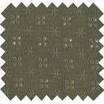 Cotton fabric gaze dentelle kaki - PPMC