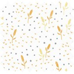 Cotton fabric ears of wheat ex1098 - PPMC