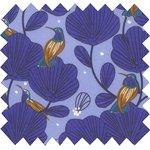 Cotton fabric blue bird ex1110 - PPMC