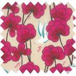 Cotton fabric fuchsia heaven - PPMC