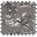 Cotton fabric fauna and flora - PPMC