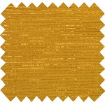Cotton fabric lurex ocher gauze - PPMC