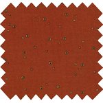 Cotton fabric gauze terra cotta - PPMC