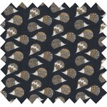 Cotton fabric  hedgehog - PPMC