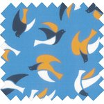Cotton fabric swallows - PPMC
