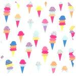Cotton fabric ice cream - PPMC