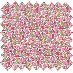 Cotton fabric pink jasmine - PPMC