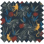 Cotton fabric jungle party - PPMC