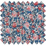 Cotton fabric flowered london - PPMC