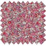 Cotton fabric paprika mini flower - PPMC