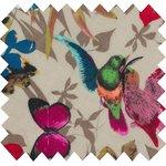 Cotton fabric island birds - PPMC