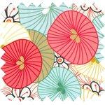 Cotton fabric umbels - PPMC