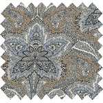 Cotton fabric sesame ornament - PPMC