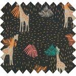 Tissu coton palma girafe - PPMC