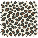Cotton fabric leopard print - PPMC