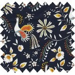 Cotton fabric lyrebird - PPMC