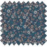 Cotton fabric marine daisy - PPMC