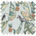 Cotton fabric paradizoo mint - PPMC