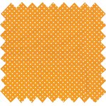 Cotton fabric pois jaune - PPMC