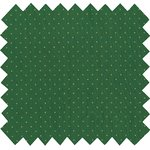 Cotton fabric pois or vert - PPMC