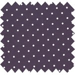 Cotton fabric plum spots - PPMC