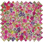 Cotton fabric purple meadow - PPMC