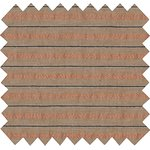 Cotton fabric bronze copper stripe  - PPMC