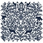 Cotton fabric scandinave navy blue - PPMC
