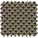 Cotton fabric inca sun - PPMC