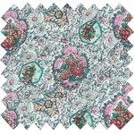 Cotton fabric mint tea - PPMC
