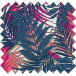 Cotton fabric tropical fire - PPMC