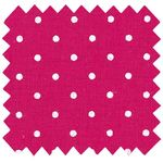 Coated fabric fuschia spots - PPMC