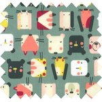 Coated fabric animals cube - PPMC