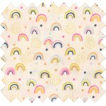 Coated fabric rainbow - PPMC