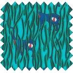 Tissu enduit cache-cache babouin - PPMC