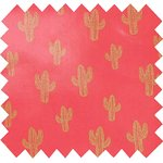 Coated fabric gold cactus - PPMC