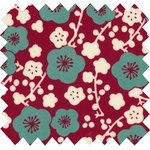 Coated fabric ruby cherry tree - PPMC