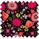 Coated fabric autumn bellflower - PPMC