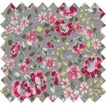 Coated fabric pink anise eglantine - PPMC