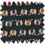 Coated fabric black elephant - PPMC