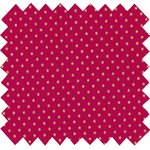 Coated fabric etoile or fuchsia - PPMC