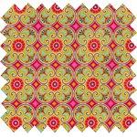 Coated fabric pop flower - PPMC
