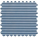 Coated fabric ligne blanc marine ex1001 - PPMC