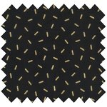 Coated fabric golden straw - PPMC