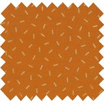 Coated fabric caramel golden straw - PPMC