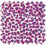 Tissu enduit paillette bubble blue - PPMC
