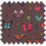 Coated fabric multicolored butterfly - PPMC
