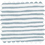 Coated fabric striped blue gray glitter - PPMC