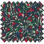 Tissu enduit  tulipes - PPMC